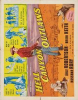 Hell Canyon Outlaws movie poster (1957) picture MOV_256fd755