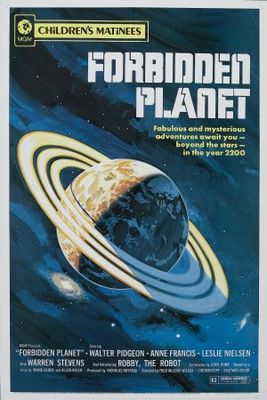 Forbidden Planet movie poster (1956) poster MOV_2580b67d