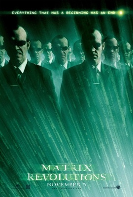 The Matrix Revolutions movie poster (2003) poster MOV_259a9b3c