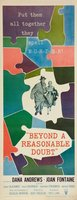 Beyond a Reasonable Doubt movie poster (1956) picture MOV_25a220aa