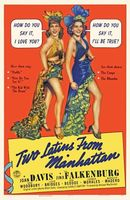 Two Latins from Manhattan movie poster (1941) picture MOV_25addfc3