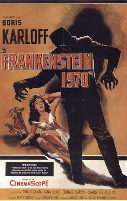 Frankenstein - 1970 movie poster (1958) poster MOV_25bacba5