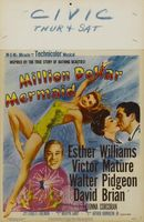 Million Dollar Mermaid movie poster (1952) picture MOV_25bd693f