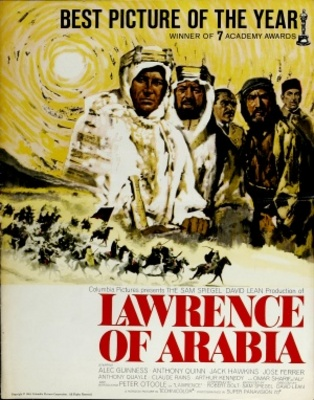 Lawrence of Arabia movie poster (1962) poster MOV_25c13e3f