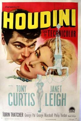 Houdini movie poster (1953) poster MOV_25c22100