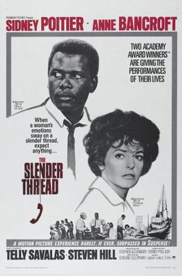 The Slender Thread movie poster (1965) poster MOV_25d62df6