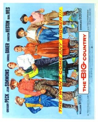 The Big Country movie poster (1958) poster MOV_25de46ac