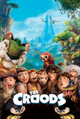 The Croods movie poster (2013) poster MOV_25e9ae8b