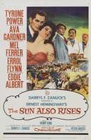 The Sun Also Rises movie poster (1957) picture MOV_a2466396
