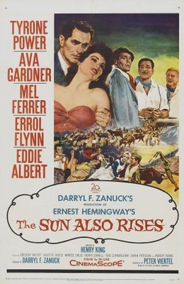 The Sun Also Rises movie poster (1957) poster MOV_25ed8465
