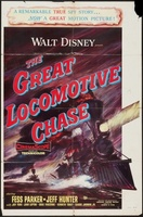 The Great Locomotive Chase movie poster (1956) picture MOV_25ef8dd6