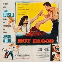 Hot Blood movie poster (1956) picture MOV_25f39a86