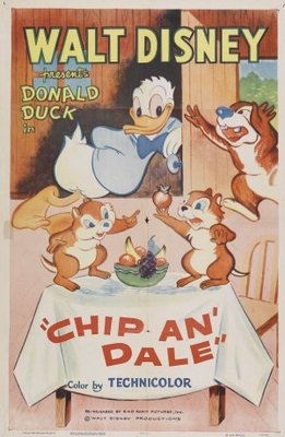 Chip an' Dale movie poster (1947) poster MOV_2610e2b9