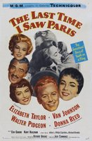 The Last Time I Saw Paris movie poster (1954) picture MOV_2616ce6b