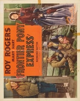 Frontier Pony Express movie poster (1939) picture MOV_2635eefe