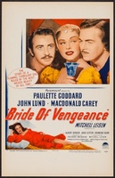 Bride of Vengeance movie poster (1949) picture MOV_2636a421