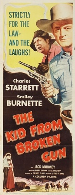 The Kid from Broken Gun movie poster (1952) poster MOV_264b36cf
