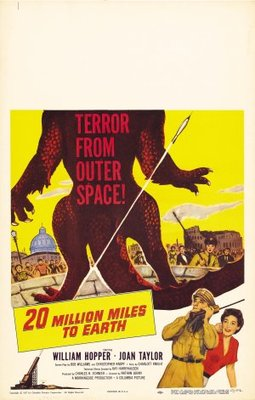 20 Million Miles to Earth movie poster (1957) poster MOV_2657788f