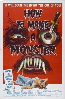 How to Make a Monster movie poster (1958) poster MOV_265dc171