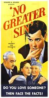 No Greater Sin movie poster (1941) picture MOV_266ec6ce