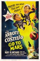 Abbott and Costello Go to Mars movie poster (1953) picture MOV_268d146f