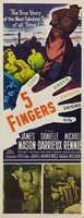 5 Fingers movie poster (1952) picture MOV_26beb92f