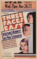 Three Faces East movie poster (1930) picture MOV_26c13118
