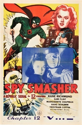 Spy Smasher movie poster (1942) poster MOV_26c97bab