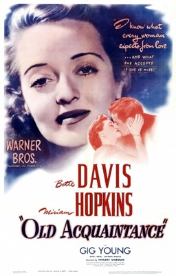 Old Acquaintance movie poster (1943) poster MOV_26d11d3a