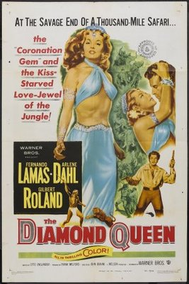 The Diamond Queen movie poster (1953) poster MOV_26d6d293