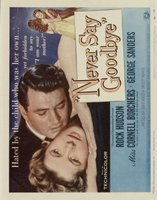Never Say Goodbye movie poster (1956) picture MOV_26e301fc