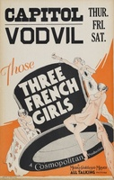 Those Three French Girls movie poster (1930) picture MOV_26e6bbb1