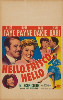 Hello Frisco, Hello movie poster (1943) poster MOV_26eacadd