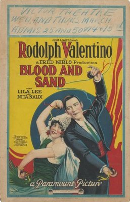 Blood and Sand movie poster (1922) poster MOV_26ebbc50