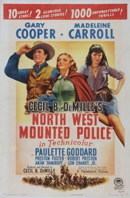 North West Mounted Police movie poster (1940) poster MOV_26f43185