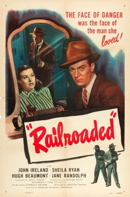 Railroaded! movie poster (1947) poster MOV_26fa8e1f
