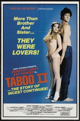 Taboo II movie poster (1982) poster MOV_27097892