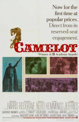 Camelot movie poster (1967) poster MOV_27107794