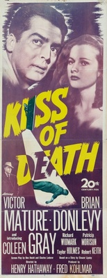 Kiss of Death movie poster (1947) poster MOV_271085df