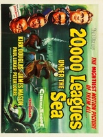 20000 Leagues Under the Sea movie poster (1954) picture MOV_f8330b91