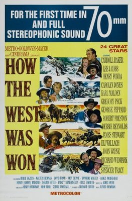 How the West Was Won movie poster (1962) poster MOV_2737f716
