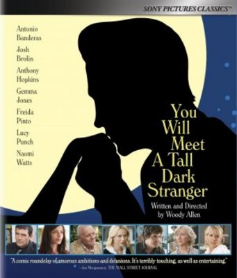 You Will Meet a Tall Dark Stranger movie poster (2010) poster MOV_2747ac7d
