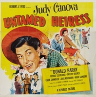 Untamed Heiress movie poster (1954) picture MOV_279e0295