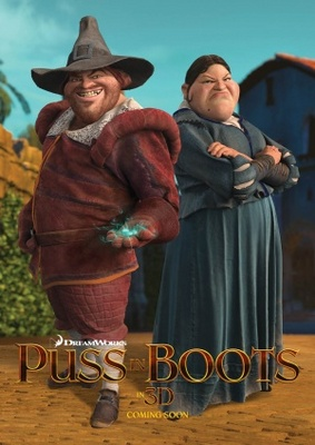 Puss in Boots movie poster (2011) poster MOV_27bf694a