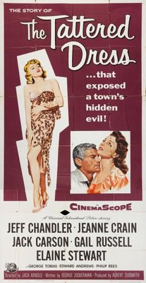The Tattered Dress movie poster (1957) poster MOV_27c90cea