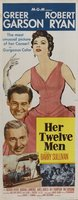 Her Twelve Men movie poster (1954) picture MOV_27d93008