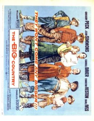 The Big Country movie poster (1958) poster MOV_27dbe803