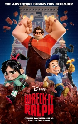 Wreck-It Ralph movie poster (2012) poster MOV_27fff750