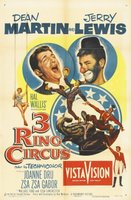 3 Ring Circus movie poster (1954) picture MOV_282736d8