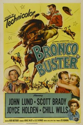 Bronco Buster movie poster (1952) poster MOV_2832d7c7